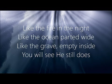 He Still Does (Miracles) - Hawk Nelson (Lyrics)