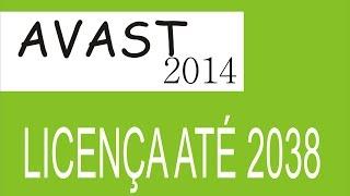 Avast 2014 Com Licença até 2038 *Canal aperta o play*