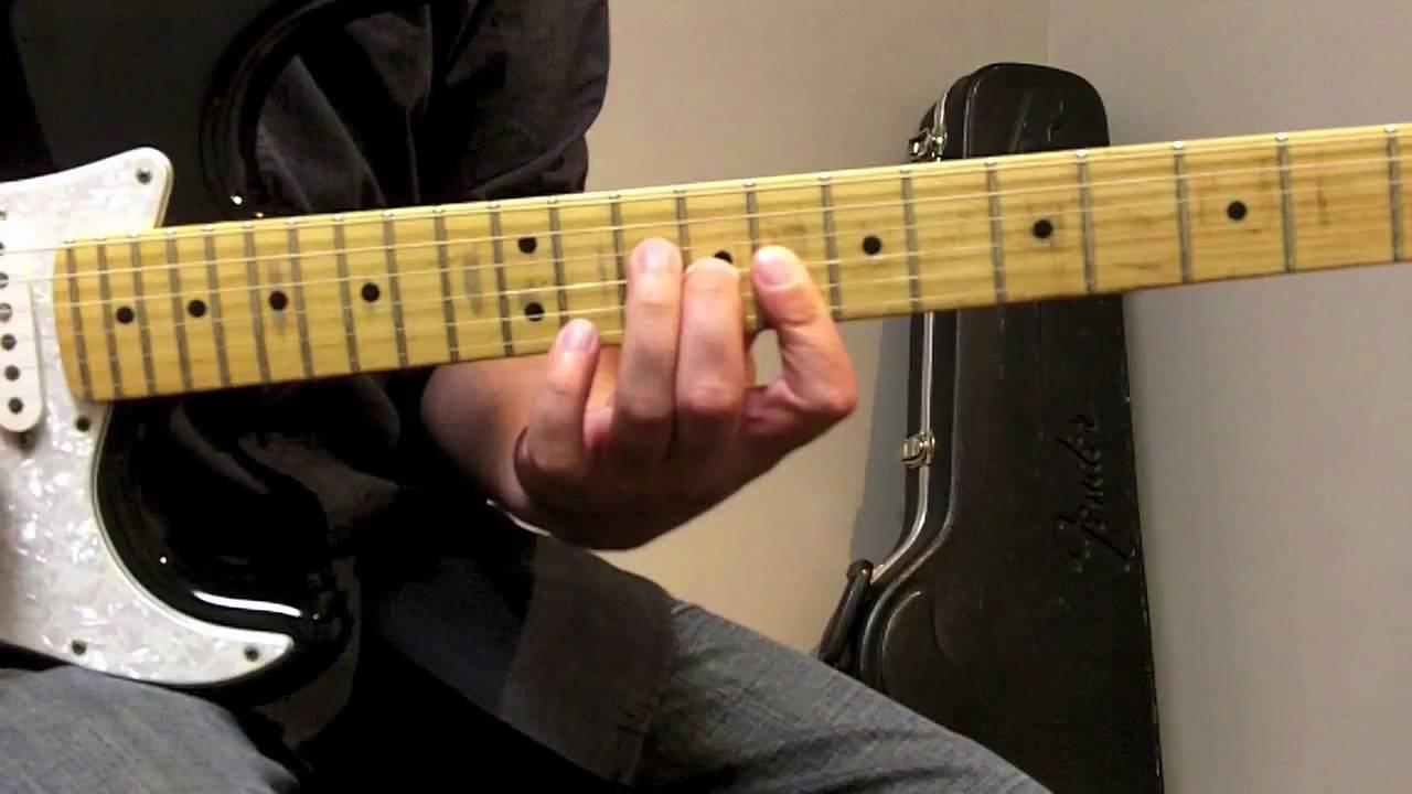 Texas Flood Intro - Stevie Ray Vaughan - Guitar Lesson