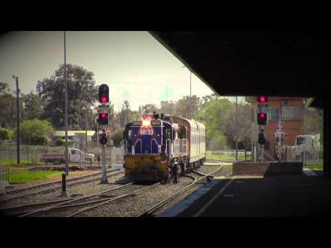 48153, 48159, AK Cars | 23/09/2014 | Parkes RailwayTV