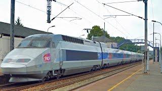 Trains SNCF, TGV, TER, FRET à Evron (53).