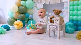 фотосессия на день рождения 1 годик