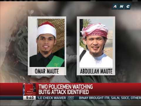 'Policemen' shown smiling as Maute Group attacks Butig, Lanao del Sur