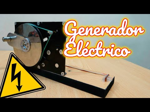 Generador Eléctrico Casero Con Disco Duro - Energía Gratis thumbnail