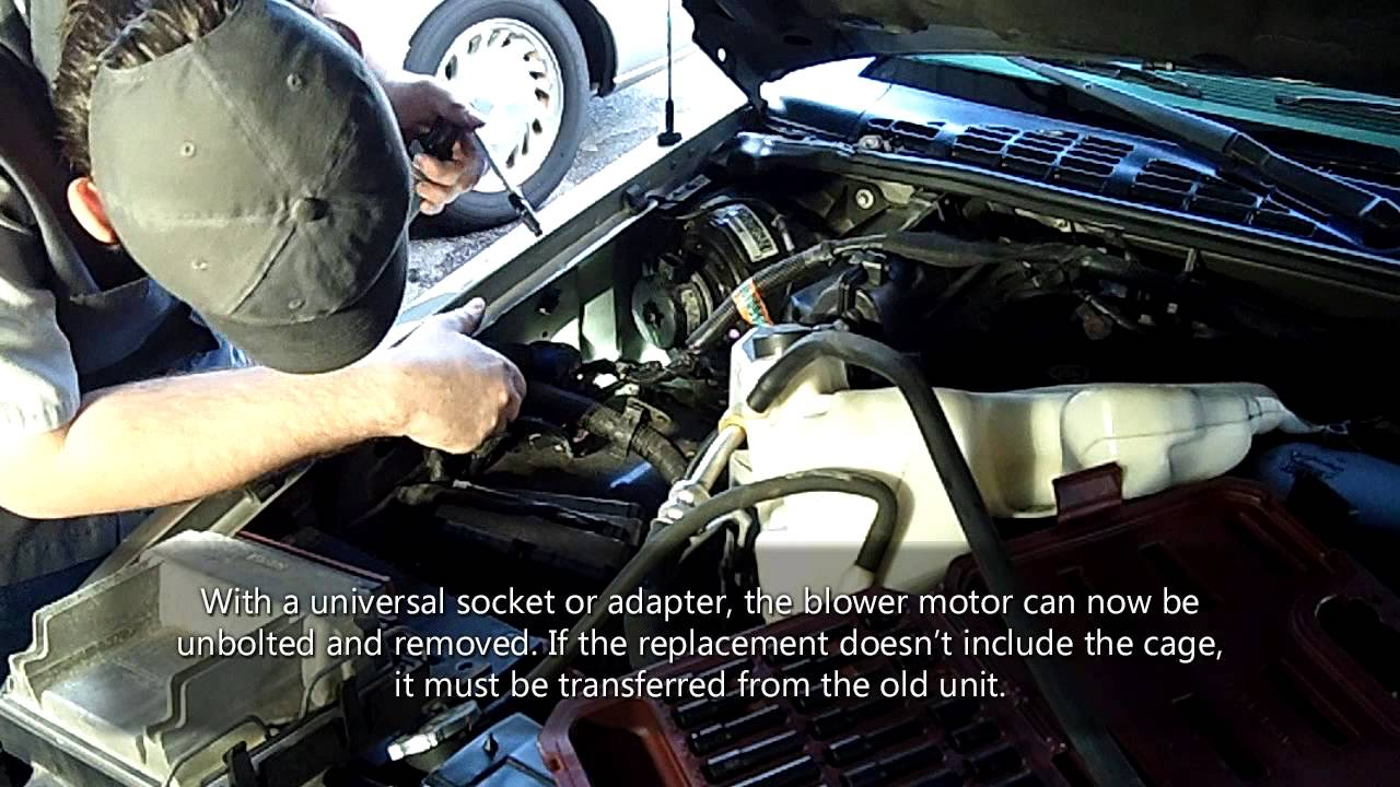 1996 Gmc Pickup Fuel Pump Wiring Diagram Fix It Right Blower Motor Replacement Youtube
