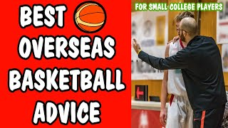 Best Overseas Basketball Advice for Rookies | Avoid Scams | Do You Need an Agent? | Career Building