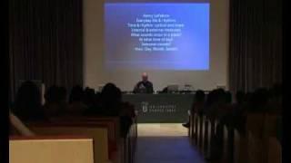 """Conferencia Kim Cascone: """"Field Diffusion"""" (Fragmento 1/2)"""
