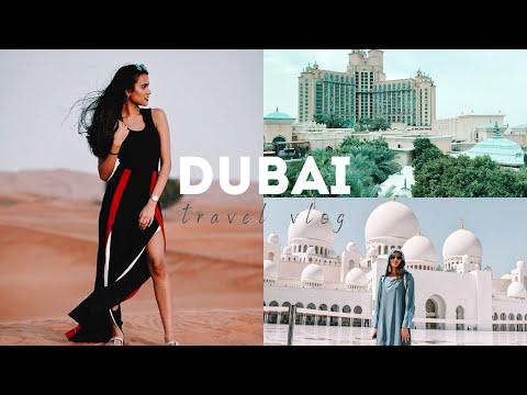 TRAVEL VLOG | DUBAI | burj khalifa, grand mosque, global village, ferrari world, dubai mall + more