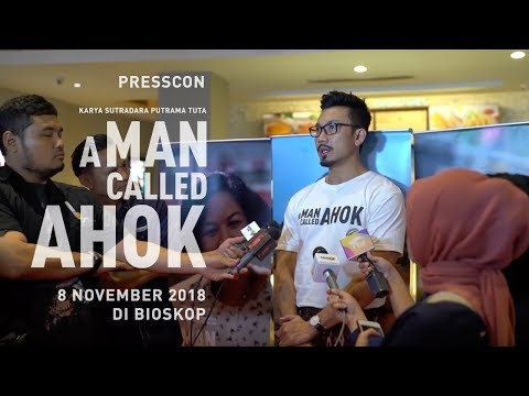 A MAN CALLED AHOK | PRESS SCREENING & PRESS CONFERENCE Mp3