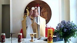 Msza święta niedzielna 11 maja 2014