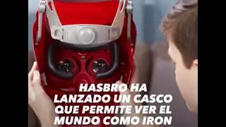 El visor de Hasbro para ver como Iron Man