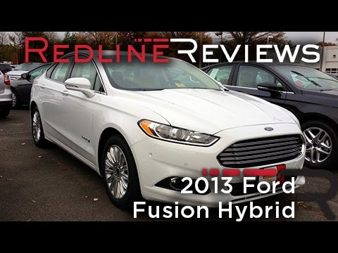 2013 Ford Fusion Hybrid Review, Walkaround, Test Drive