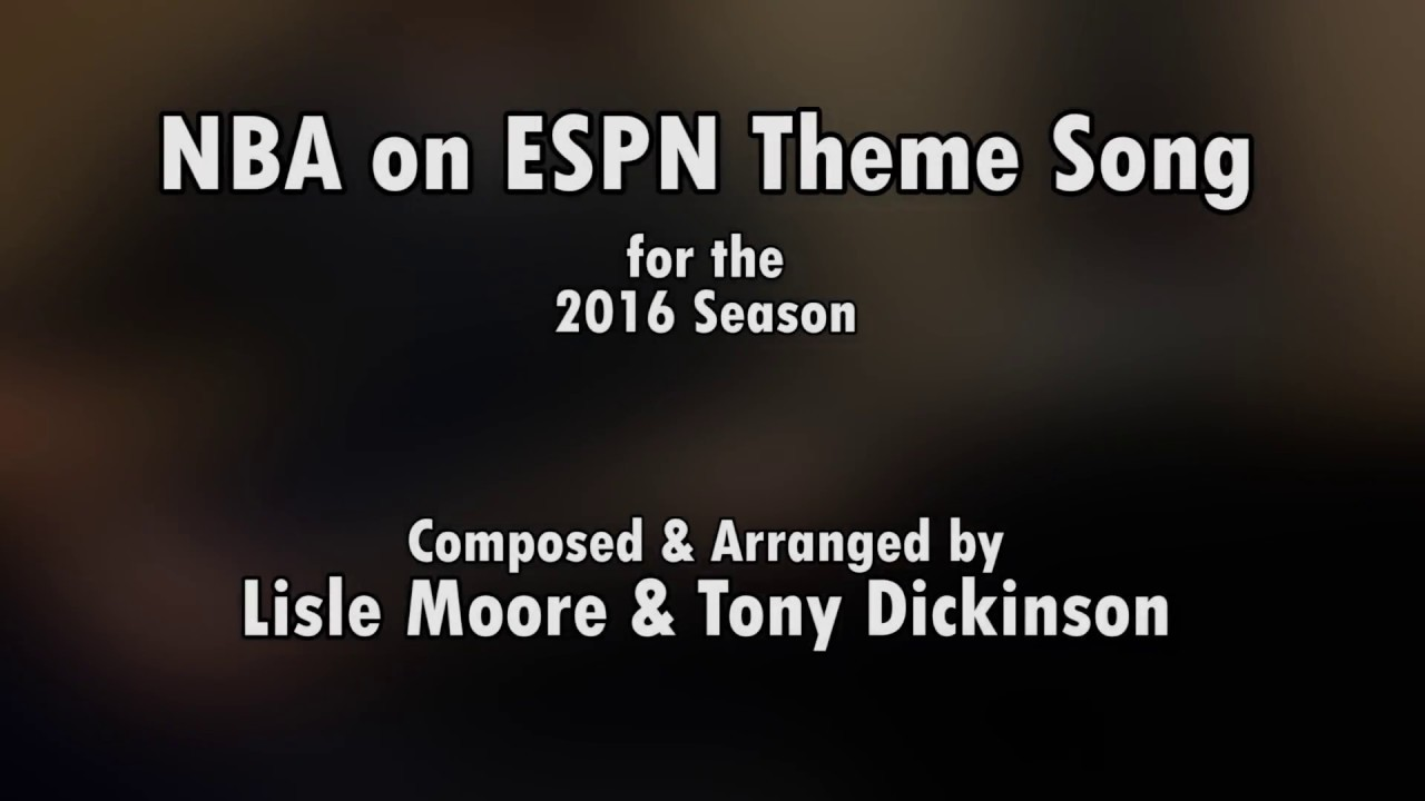 NBA on ESPN 2016 Theme Song - Guitar Performance