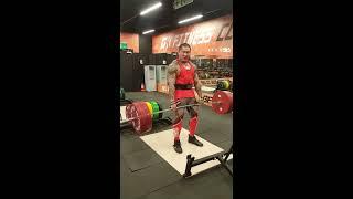 館長 - 硬舉320公斤