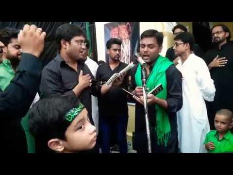 nohay Anjuman-e-Hussainia jaunpur azadari. /Tu karbala ki khass nishani hai zuljanah, teri koi