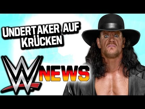 Undertaker auf Krücken, Goldberg ist zurück   WWE NEWS 85/2016