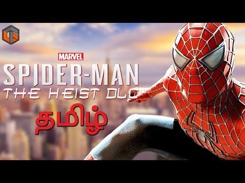 Marvel's Spiderman DLC The Heist Live Tamil Gaming