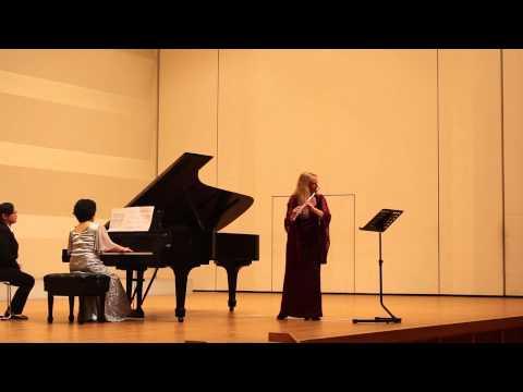 Francis Poulenc, Sonate für Flöte und Klavier