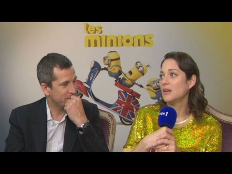 Guillaume Canet et Marion Cotillard très taquins face à Nikos Aliagas