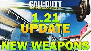 Infinite Warfare 1.21 New Update - NEW WEAPONS: Katana, Nunchucks & Venom X