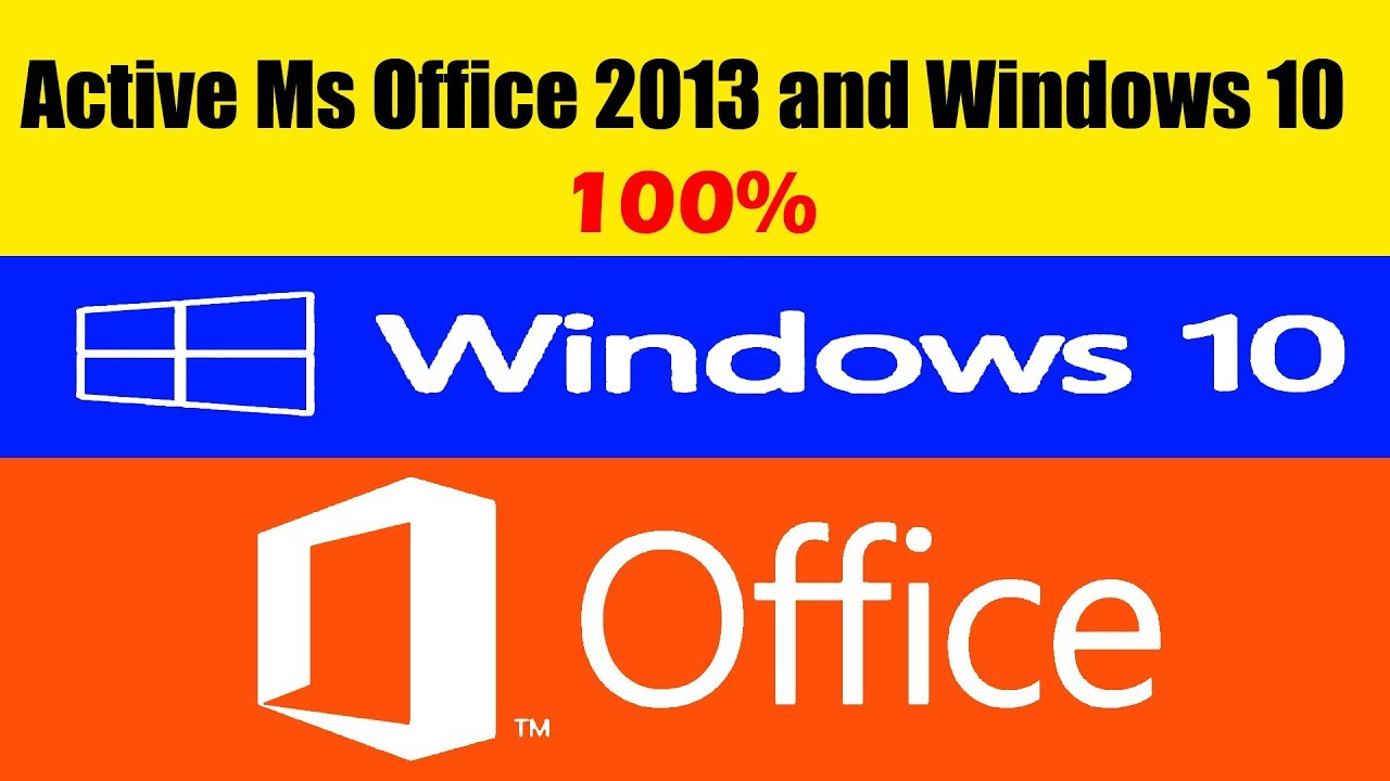 how to activate ms office 2013 and windows 10all versionsoffline by syed it solutions