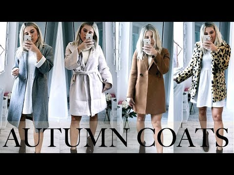 AUTUMN TRY ON HAUL | TOP COATS AND JACKETS, MISSGUIDED, TOPSHOP, ASOS HIGH STREET HAUL!