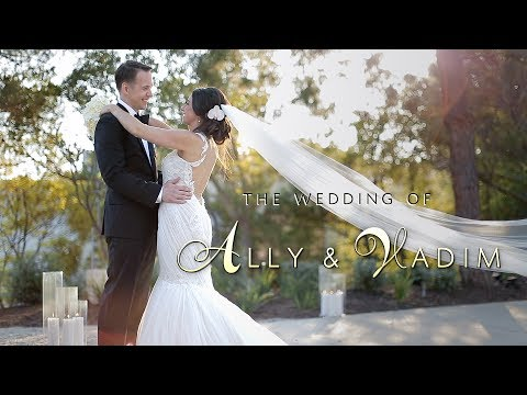 Ally + Vadim Wedding Day Highlights in Malibu, California