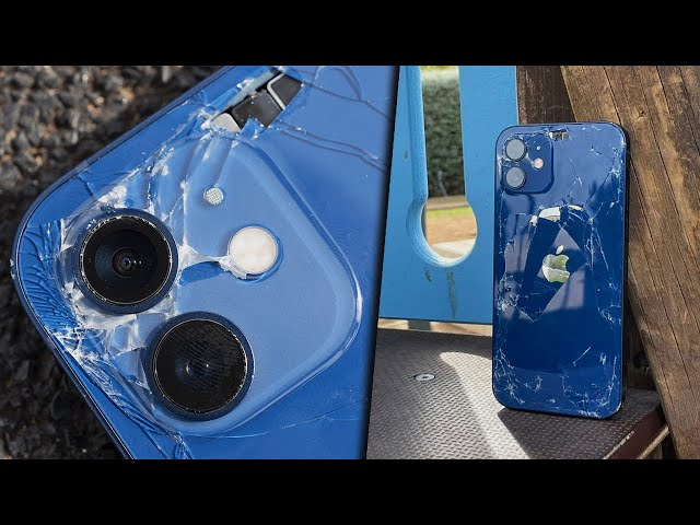iPhone 12 Drop Test: il Ceramic Shield FA LA DIFFERENZA! - Feat @Nick Radogna TV