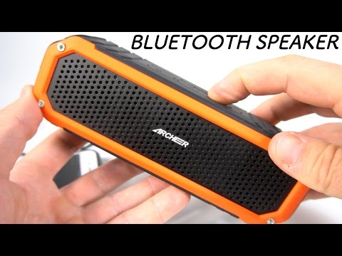 LOUD WIRELESS BLUETOOTH SPEAKER ARCHEER PORTABLE MUSIC REVIEW