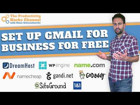 How to create business email on gmail