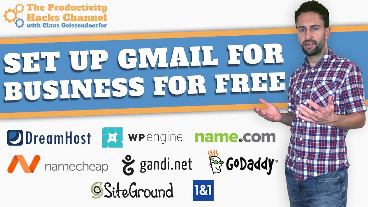 Set Up A Business Email Through Gmail For Free - YouTube