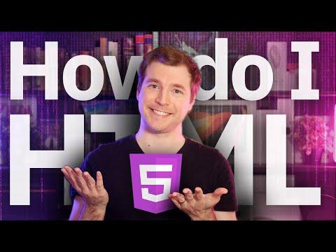 How Do I Learn HTML