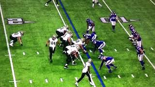 SAFETY ANDREW SENDEJO GETS KNOCKED OUT COLD OFF HUGE HIT/BLOCK SORTA KINDA **MUST WATCH**