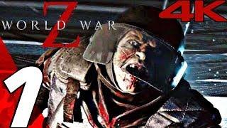 WORLD WAR Z Game - Gameplay Walkthrough Part 1 - New York [4K 60FPS ULTRA]