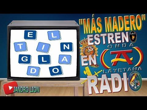 MORE WOOD. We premiered on radio. ONDA LAYETANA programs EL TINGLADO. Jandro Lion