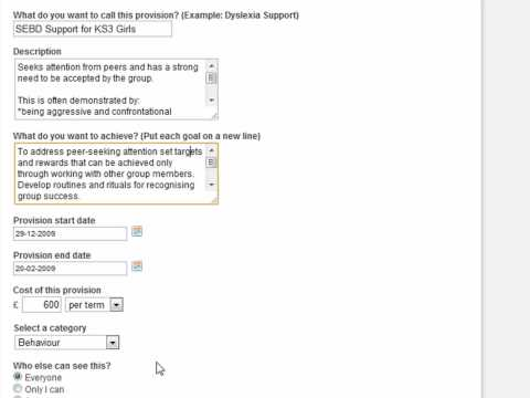 Provision 7 - Managing Learning Suport Departments Better