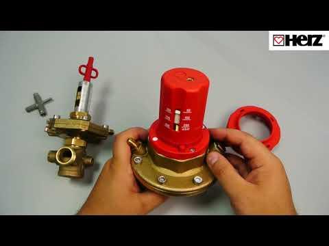 Автоматический регулятор перепада давления Herz ( технический обзор), 4007