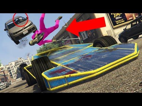 GTA 5 Online - RAMP CAR TROLLING! (GTA V Online)