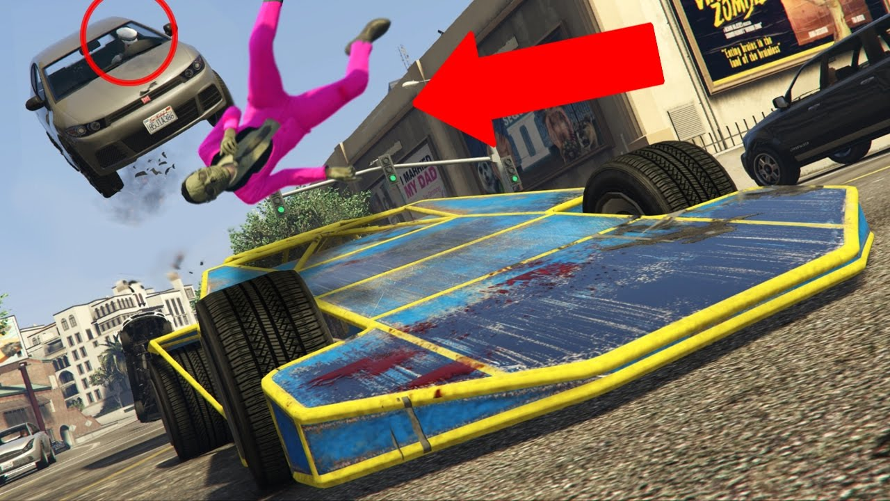 GTA 5 Online - RAMP CAR TROLLING! (GTA V Online) - YouTube