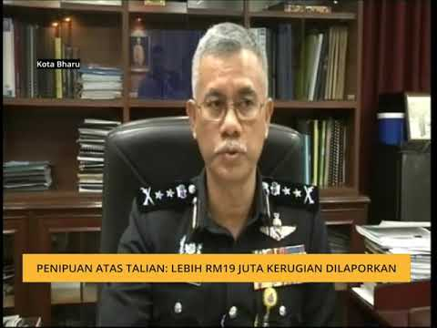 Penipuan atas talian: Lebih RM19 juta kerugian dilaporkan
