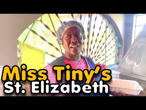 Eating at Miss Tiny's in St. Elizabeth T&J Bar and Grill | EP339 | JAMAICA GOOD LIFE 🇯🇲