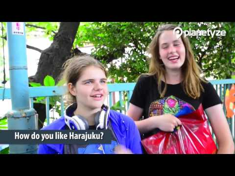 Interviewing Tourists in Harajuku |  Japan Travel Guide
