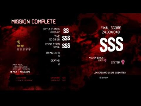 DmC Devil May Cry DE GMD(Dante) Mission 8 SSS Rank Clear |