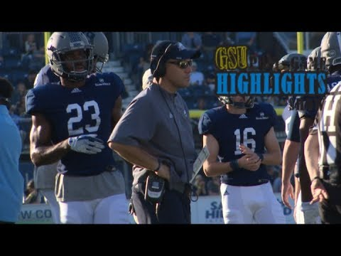 GA Southern  Postgame Show vs South Alabama 2017