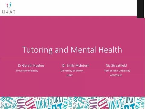 Tutoring and Mental Health
