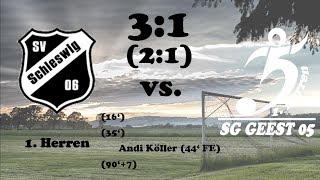 Highlights Schleswig 06 vs. SG Geest 05 - 3:1 (2:1) - 30.09.2017