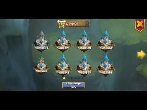 Castle Clash Ronin And Minotaur Chieftain Bombing