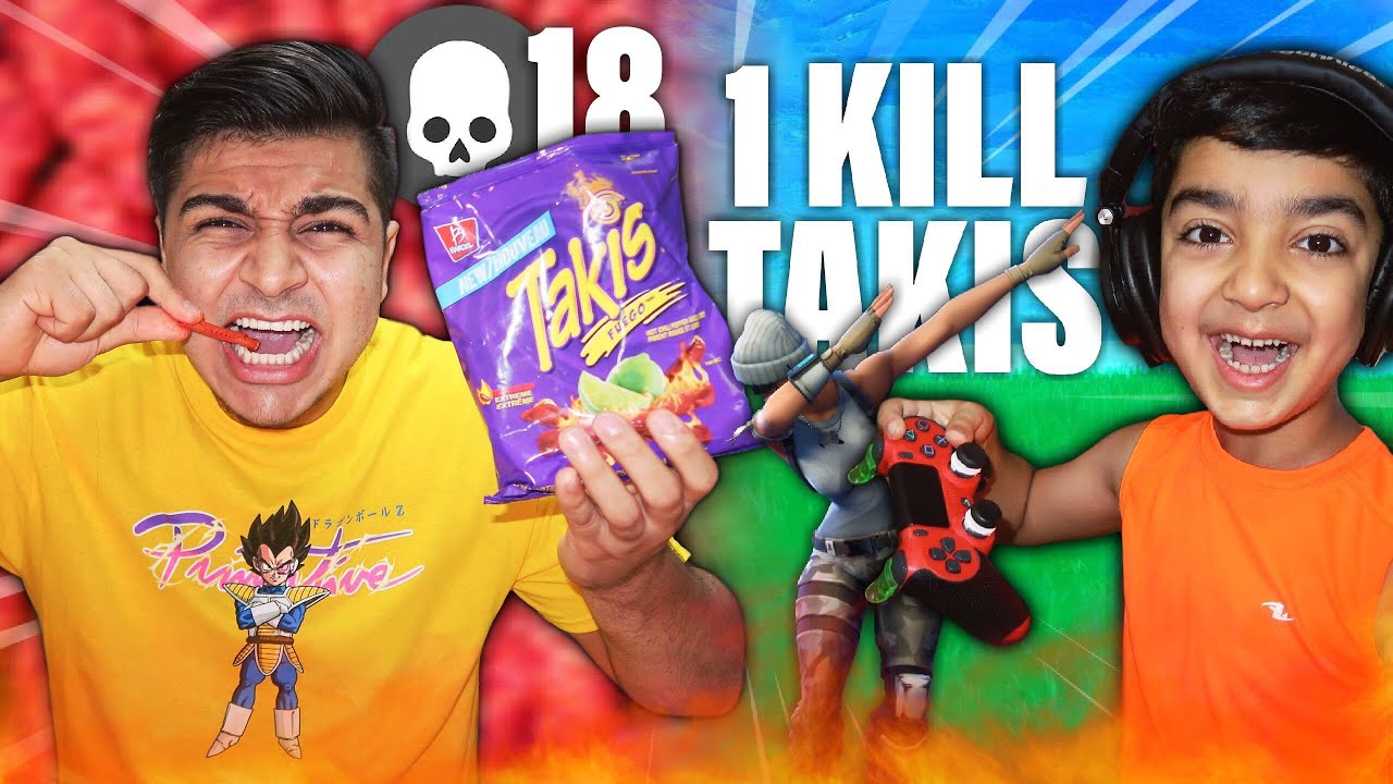 1-kill-extreme-takis-fuego-with-no-water-challenge-eating-takis-for-every-kill-in-fortnite
