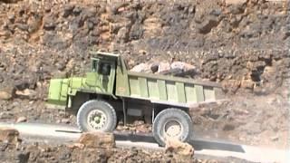 **HUGE** TEREX 33-07 Dump Truck - Quarry / Steinbruch, Mönsheim, 29.07.2003.