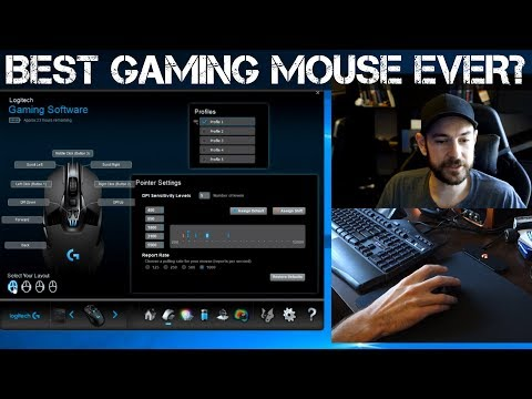 BEST GAMING MOUSE EVER? - Logitech G903 Mouse and POWERPLAY Mousepad Review